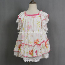 summer floral printed dress for kids